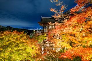 秋の清水寺 / Kiyomizu-dera Temple
