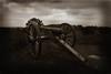 3-Inch Ordnance rifle on East Cemetery Hill (cmfgu) Tags: gettysburg pa pennsylvania civilwar may 2010 cemetery cannon 3inch ordnance rifle east hill sepia battlefield