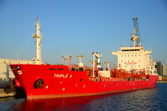 Triple A DST_3912 (larry_antwerp) Tags: triplea 9322152 antwerp antwerpen       port        belgium belgi          schip ship vessel        tanker