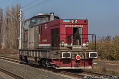 841-003-2 CFR Marfa (mureseanu_976) Tags: 040 dhe ldh 1360 faur remarul 16 februarie cluj napoca cfr marfa cat 3508 caterpillar diesel hidraulic hydraulic shunter light engine nagy dacsia