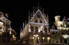 Mechelen by night (DirkVandeVelde back) Tags: europa europ europe belgie belgium belgica belgique antwerpen anvers antwerp mechelen malines malinas grotemarkt lakenhalle stadhuis outdoor sony