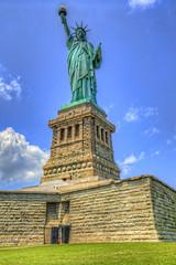 Statue of Liberty (cmfgu) Tags: newyorkcity nyc newjersey nj jerseycity libertystatepark newyork ny statueofliberty libertyisland hdr highdynamicrange