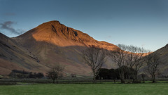 Great Gable from Wasdale Head (moonsurf) Tags: uk landscape landscapes nationalpark head great pillar lakedistrict cumbria gable wasdale thelakedistrict cumbrialandscape