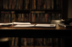 night reading (al_lupo photography) Tags: reflection home night reading silence allupo