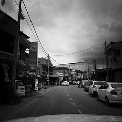 it will rain soon (1davidstella) Tags: street clouds town samsung kelantan placesofinterest rantaupanjang