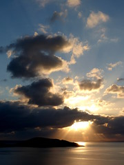 6 May 2014 - Clouds (penny_chicken) Tags: clouds sunrise greece crete elounda