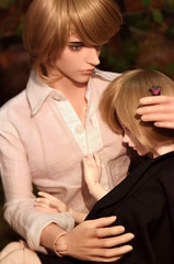 A brother and his sister (bustamante_119) Tags: new look ball gold dolls breast skin felix charlotte small sid peach makeup 9 style size sd bjd normal cecile msd jointed jid balljointeddolls iplehouse marsilio ctaype ataype