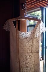 The dress (beyondramen) Tags: dress lace bigsur weddingdress postranchinn