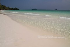 Koh Rong, white sand (blauepics) Tags: sea white beach water strand island sand cambodia kambodscha meer wasser fine relaxing palm insel clear chilling fein koh rein pure weiss rong palmen entspannen klar