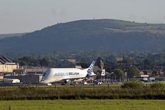 Beluga (Bantam61668) Tags: uk aircraft airbus a300