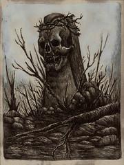 Carranca (doug.firmino) Tags: wild forest skull bad horror terror mal medo feio crnio carranca ruim chato