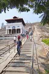 La colline d'Indragiri (Sravanabelgola, Inde)