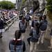 Messe à la grotte de Lourdes, lors du pèlerinage des béatitudes