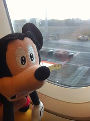 Mickey takes the flight from Gold Coast to Melbourne, delayed by very thick fogs above Melbourne for almost 5 hour (haphopper) Tags: trip travel friends vacation sky holiday window face car airport doll time flight australia melbourne visit victoria mickey plush mel transportation memory vic passenger jetstar visitor departure plushtoy iphone big5 2014 big8 goldcoastairportool