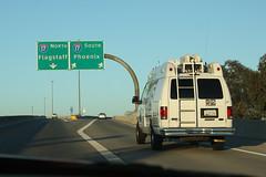 Interstate 17 (twm1340) Tags: arizona news ford phoenix june az area abc van i10 2014 interstate10 e350 channel15