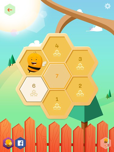 Disco Bees Level Selection: screenshots, UI
