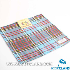 Clan Anderson Ancient Tartan Wool Handkerchief