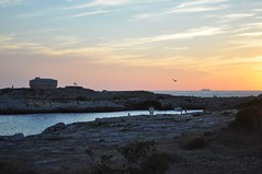 Sunset (crwilliams) Tags: sunset spain cloudy menorca calasantandria