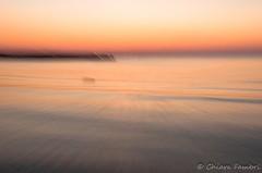 Effetto mosso creativo durante un tramonto. (Chiar@Love [ON-OFF]) Tags: sunset motion blur tramonto mosso effettomosso