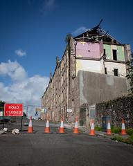 Behind You ! (vinegartom40) Tags: streets demolition an era end photogenic portglasgow inverclyde bouveriestreet