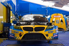 Turner BMW in the Paddock (arandomnoob) Tags: tudor bmw gtd z4 gt3 bmwz4 turnermotorsports tuscc