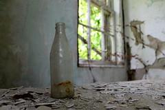 Empty (Feeling The Green) Tags: abandoned bottle crumbling abandonedbuildings