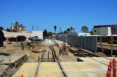 1067 MTA Expo Line Looking East Fm 17th St. 20140708 AKW (Metro Transportation Library and Archive) Tags: construction expo row lrt rightofway expophaseii