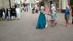 Opera singing in Bury St Edmunds 22-7-2014