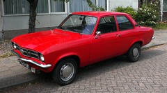 Opel Ascona 1200S Standard (sjoerd.wijsman) Tags: auto red holland cars netherlands car ascona gm nederland thenetherlands voiture vehicle holanda autos saloon rood paysbas olanda opel fahrzeug niederlande generalmotors zuidholland onk pijnacker carspotting redcars ocar carspot opelascona asconaa cwodlp opelasconaa sidecode2 7601xd