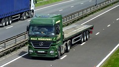 OU04 HLC A1 11-06-14 (panmanstan) Tags: truck wagon mercedes yorkshire transport lorry commercial vehicle a1 freight haulage hgv ferrybridge actros