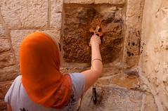 Jerusalem_Via Dolorosa_Station 5 (3)_Noam Chen_IMOT (Israel_photo_gallery) Tags: people woman israel jerusalem prayer religion pray jesus christian christians oldcity noamchen station5inviadolorosa