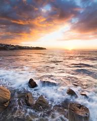 Bronte (Timothy M Roberts) Tags: ocean seascape beach beauty sunrise flow dawn nikon awesome sydney australia move bronte