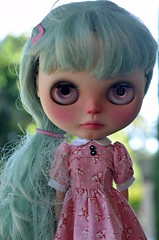 B is for Blythe...and bow.