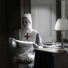 Nurse almost B&W (Anthony Mottram) Tags: nurse dunhammassey d800e