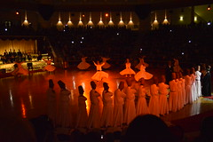 Whirling Dervishes in Konya (ancuansiar) Tags: turkey religious dance nikon spiritual orientexpress konya nikond3200 whirlingdervishes