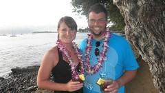249458_222347581117827_100000277611648_885010_2019845_n (lizmccarty) Tags: liz me hawaii maui will luau 2011 lizandwill meandwill