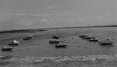 Boats at port (nathanbillis) Tags: blackandwhite bw film monochrome blackwhite pentax k1000 ilford fp4 125 ilfosol filmfilmforever