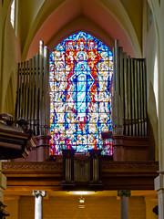 Brussel: Eglise Saint-Nicolas - Orgue de tribune (IMG_9066R) (Albertus82) Tags: brussels church belgium kirche bruxelles chiesa organ organo brussel glise kerk orgel kyrka kirke orgue varhany