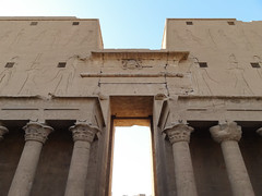 gypten - Edfu Horus Tempel (Fotos und Reisen..) Tags: temple egypt horus gypten tempel edfu