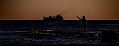 [ Pesca grossa - Big game ] DSC_0747.3.jinkoll (jinkoll) Tags: sunset sea fish boat fishing fisherman rocks waves ship smoke horizon titan titanic gloaming penda