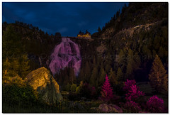 Light Show To Toce Waterfalls (Marco De Candido) Tags: summer mountain night estate august agosto waterfalls montagna notte notturne notturno cascate longtimeexposures valformazza lungheesposizioni cascatedeltoce