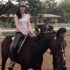 #ม้าตัวแรกของช้าน #ชื่อรักขสะ #สักวันฉันจะขี่เข้าป่าได้ #รีบฝึกเข้า