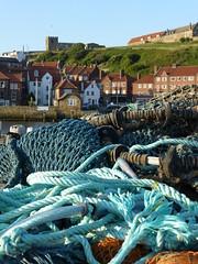 P1060149 (ianpreston) Tags: seascape seaside lobsterpots stmarys