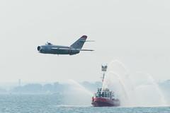 DTH_8532r (crobart) Tags: show toronto ball aircraft air airplanes jet canadian exhibition cne international national randy russian 2014 mig17 cias