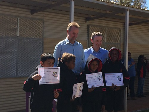 APY lands visit day 1