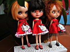 Sabrina,Aniuska y Margot