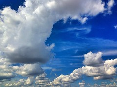 clouds in the sky. tuesday september 2 2014. chicago illinois (timp37) Tags: blue summer sky chicago fall clouds illinois september 2nd tuesday end 2014