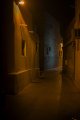 Alley colors (heshaaam) Tags: colors night lights bahrain alleyway muharraq