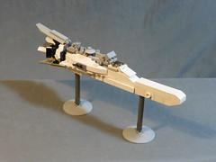 Passenger Liner (de_chef) Tags: scale lego space micro scifi fi sci microspace microscale