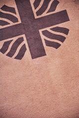 DSC_3343 [ps] - Some Foreign (Anyhoo) Tags: urban brown germany emblem logo deutschland mural crossing cross symbol dusk render freiburg crossroads baden unionjack saltire badenwrttemberg freiburgimbreisgau herrenstrasse anyhoo herrenstrase photobyanyhoo